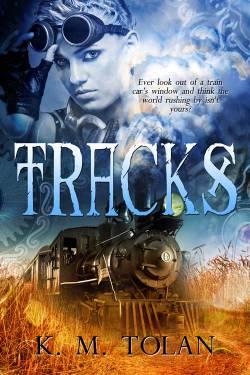 image, Tracks Book cover, Amber Belldene