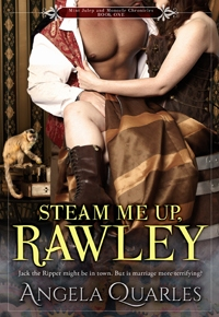 Cover and Pre-Order Reveal for STEAM ME UP, RAWLEY + 99c Sale on MUST LOVE BREECHES