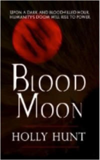Blood Moon by Holly Hunt - book cover
